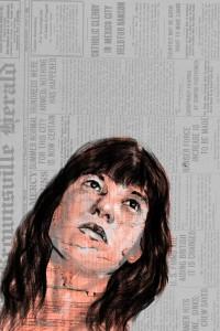 дигитална рисунка, Photoshop, Illustrator, дигитална рисунка-автопортрет