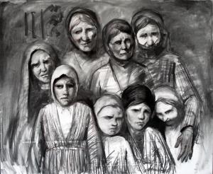 Бежанци   скици