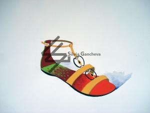 Моден аксесоар-обувка